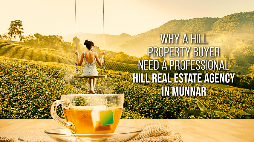 Why a Property Buyer need A  Professional Hill Real Estate Agency in Munnar?