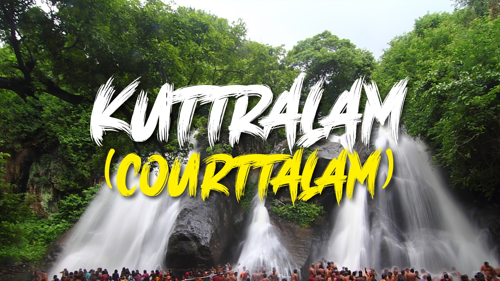 Courtallam - A Rare Low Altitude Hill Station
