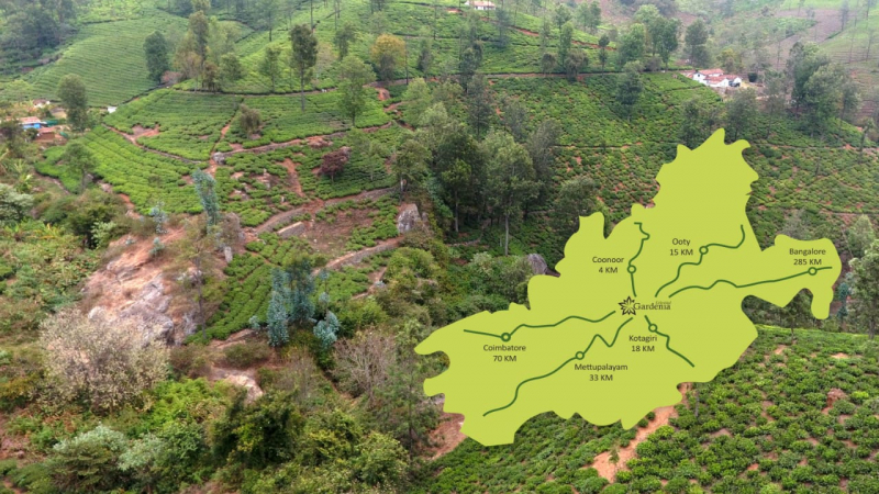 ₹95 Lac|3BHK Villa For Sale in Coonoor
