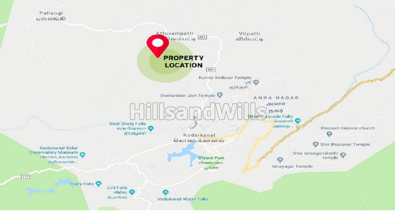 ₹1 Cr|25 cents Residential Plot For Sale in Chinnapallam Kodaikanal
